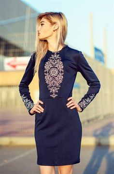 сучасна українська вишивка Fashion Project, Embroidery Stitches, Embroidery Designs, Hand Embroidery, Dress Patterns, Folk Fashion, Womens Fashion, Designer Dresses, Embroidered Clothes