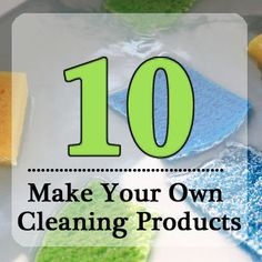 10 Household Cleaning Recipes::  Laundry Detergent, Miracle Stain Remover, Inexpensive Fabric Softener Sheet,  Drain Cleaner, Sink Cleanser and Hard Water Stain Remover, Stainless Steel Sink Shiner, Mold Remover, Magic Soap Scum Dissolver, Window Cleaner, Carpet Stain Lifter
