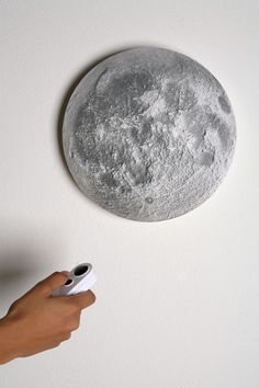 every good house should have a remote control illuminated moon!