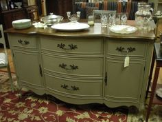 Vintage French Provincial Buffet by MoreVintageNJ on Etsy