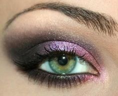 Purple eyeshadow is great for ANY eye color! An essential for sure.