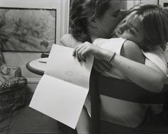 There's nothing like a mom hug, as this Nicholas Nixon photo proves. Edward Weston, Happy Mother S Day, Mother And Child, Like A Mom, Documentary Photography, Museum Of Modern Art, Family Life, Thought Provoking, Vulnerability