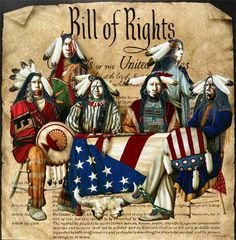 The Bill of Rights Includes Native Americans . Native American Paintings, Native American Images, American Indian Art, Native American Tribes, Native American History, Indian Tribes, Native Indian, American Flag, Eskimo