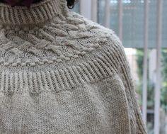 Ravelry: Bright Sweater pattern by Junko Okamoto Girls Sweaters, Wool Sweaters, Sweaters For Women, Crochet Baby Cardigan, Crochet Beanie Pattern, Ravelry, Knitted Blankets, Knitted Hats, Crochet Summer Tops