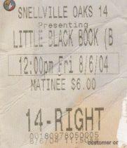 Little Black Book (8/6/2004)