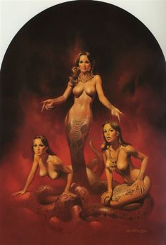 Boris Vallejo | Snake Women 1981