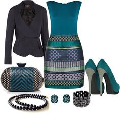 """An Evening Out"" by imclaudia-1 ❤ liked on Polyvore"