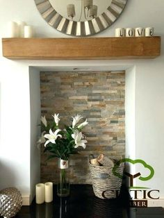 Good Totally Free Stone Fireplace with shelves Suggestions Solid French Oak Beams Floating Shelf Mantle Piece Fire Place Surround Inglenook in Home, Furniture Empty Fireplace Ideas, Open Fireplace, Decorative Fireplace, Unused Fireplace, Inglenook Fireplace, Bedroom Fireplace, Fireplace Tiles, Rustic Fireplaces, Log Burner Fireplace