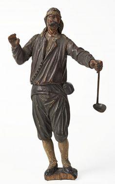 Nieokreślony autor, Figura górnika z Wieliczki Lithuania, Poland, Buddha, Crown, Statue, Author, Corona, Crowns, Crown Royal Bags