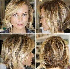 Blonde short wavy hair curly  Ideas for short hair and round-ish face Cabelo loiro ondulado crespo curto Idéias para cabelos curtos rosto redondo