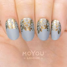 Want intricate nail art designs for your upcoming party, but out of time to make it to the salon? Look to our nail stamps to get the look in minutes. Nail Stamping Designs, Diy Nail Designs, Stamping Nail Art, Lace Nail Art, Lace Nails, Cool Nail Art, Hot Nails, Hair And Nails, Nagel Stamping