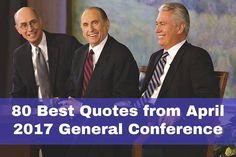 Some of the best and most inspirational quotes from the past general conference