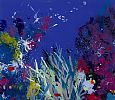 'Dive In'- Under the Sea in this piece with Duncan Macgregor, does it remind you of diving in warm tropical waters? Forest Art, Spring Home, Under The Sea, Tropical, Abstract, Gallery, Breeze, Diving, Artwork