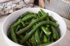 Want to make Garlic Green Beans in minutes - These Instant Pot Garlic Butter Green Beans are just the thing for you! Easy and delicious!