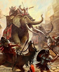 Hannibal Barca, of Carthage, is at war with mighty Rome.