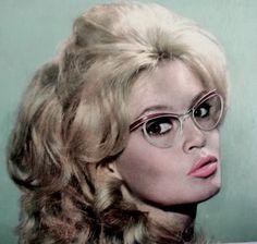 Brigite Bardot vintage glasses