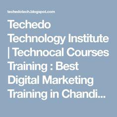 Techedo Technologies offer these courses Digital Marketing, Web Development, Web Design and more Courses Marketing Training, Chandigarh, Web Development, Digital Marketing, Web Design, Technology, Tech, Design Web, Tecnologia