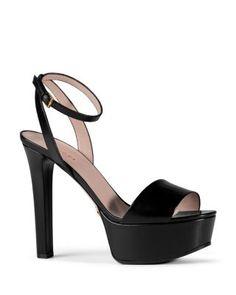 Gucci Leila Platform Ankle Strap Sandals | Bloomingdale's