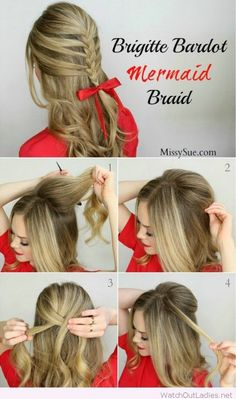 Amazing braid tutorial for Christmas
