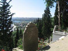 El cementerio de Eyüp, situado en la colina del Cuerno del Oro, ofrece unas maravillosas vistas de Estambul