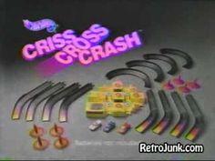 "Mattel ""Hot Wheels"" Criss Cross Crash racing set"