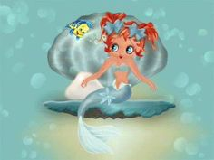 Betty Boop The Little Mermaid...
