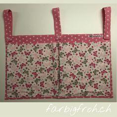 www.farbigfroh.ch doppelte Betttasche #Betttasche #Betttaschen #Bettutensilo Ted Baker, Tote Bag, Bags, Handbags, Totes, Bag, Tote Bags, Hand Bags