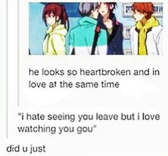 Free! Kou and Momo - I love this person, they quoted the 50% off parody AND while doing so they did a pun... xD that's brilliant