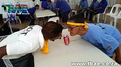Deaf Community of Cape Town Minute To Win It and Indoor Combo Team Building Cape Town