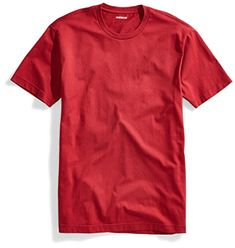 Goodthreads Men's Short Sleeve Crewneck Cotton T Shirt Plain Shirts, Men's Shirts, Tees, Design Kaos, Tee Shirt Designs, Vip, Brother, Crew Neck, Short Sleeves