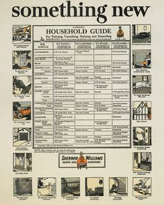 When it came to making the old new again, this handy household guide from 1924 helped show folks the power of paint, varnish, stain or enamel. More than 150 years later, the same principles hold true. One might say art becomes life after all.