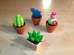 Cactus en pâte Fimo