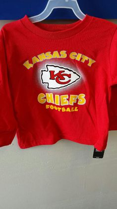 48d154e71 Kansas City Chiefs Long Sleeve Toddler Tee www.shopmosports.com. MO Sports  Authentics