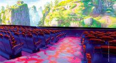 Castle Theater at Chimelong Ocean Kingdom, Zhuhai, China // realized by www. Zhuhai, Worlds Largest, Theater, Castle, Ocean, China, Digital, Travel, Teatro