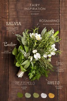 bouquet alle erbe Aromatiche per una sposa GREEn e un matrimonio profumatissimo!!!