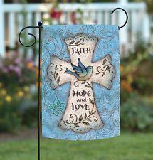 Image result for easter cross garden flag Welcome Flowers, Peace Bird, Easter Cross, Flower Bird, Garden Flags, Blue Bird, Berries, Faith, Crosses