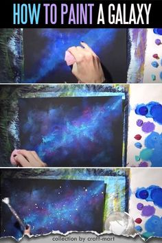 Easy Acrylic Painting Ideas for Beginners - DIY Abstract Art; this collection of amazing yet easy ideas for painting with acrylics is guarenteed to inspire your next masterpiece; with step-by-step tutorials for beginners learn how to paint abstract DIY, paint roses, sunflowers, create star-studded galaxy paintings and even use saop to paint flowers. #acrylicpaintingideas #easypaintingideas #DIYpainting #paintingwithacrylics Canvas Painting Tutorials, Easy Canvas Painting, Simple Acrylic Paintings, Diy Canvas Art, Easy Abstract Art, Acrylic Painting Inspiration, Abstract Oil, Abstract Watercolor, Abstract Paintings