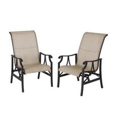 Hampton Bay Blairsville Patio Rockers (2-Pack) S2-BDL00320 at The Home Depot - Mobile