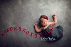 Celebrate the arrival of your newborn and send loved ones a unique birth announcement photo. Newborn Poses, Baby Boy Newborn, Newborns, Newborn Pictures, Baby Pictures, Newborn Christmas Photos, Winter Newborn, Girl Photo Shoots, Birth Announcement Photos