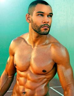 Beauty of Male Muscular Body - Ripped and Hard Muscles Men In Black, Hot Black Guys, Handsome Black Men, Hot Guys, Dark Men, Hot Men, Black Is Beautiful, Gorgeous Men, Beautiful Guys