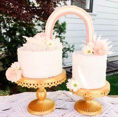 Rainbow Party Decorations, Rainbow Parties, Rainbow Theme, Rainbow Birthday, Girl Birthday, Birthday Ideas, Rainbow Party Invitations, Boho Cake, Twins Cake