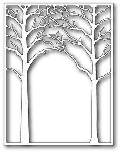 Memory Box Medium Forest Archway Die