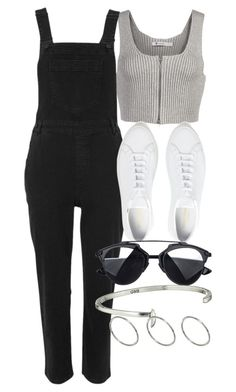 """""""Untitled #4294"""" by olivia-mr ❤ liked on Polyvore featuring T By Alexander Wang, Whistles, Common Projects, Giles & Brother and ASOS"""