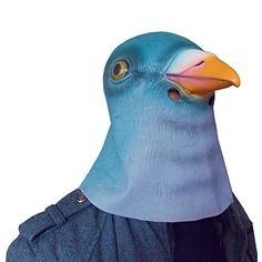 Gmasking Latex Pigeon Head Mask >>> You can find more details by visiting the image link.