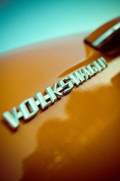 Volkswagen Orange Emblem