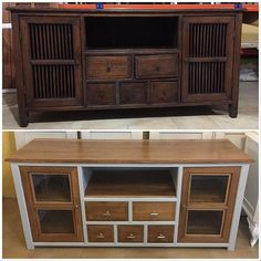 Colonial Furniture, Upcycled Furniture, Chalk Paint, Ideas Para, Cabinet, Interior Design, Storage, Tv Stands, Home Decor