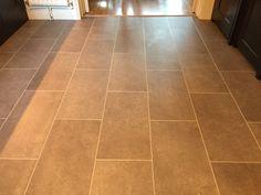 Stone effect vinyl flooring Luxury Vinyl Flooring, Luxury Vinyl Tile, Fired Earth, Vinyl Tiles, Stone Tiles, Tile Floor, Floors Of Stone, Terracotta, Tile Flooring