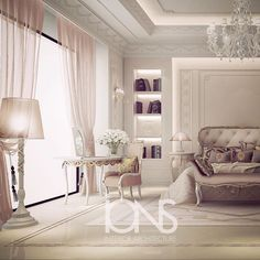 Bedroom design • Private villa • Dubai