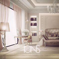 Bedroom design • Private villa • Dubai