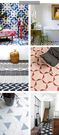 The Marion House Book - tile inspiration.
